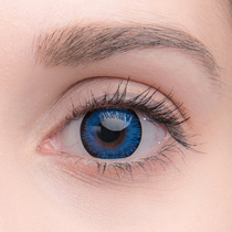 Цветные линзы Lensmam Space Blue
