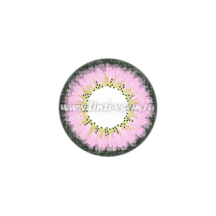 Цветные линзы EOS Briller Pink Фото 3