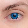 Карнавальные линзы Lensmam  Blue Elf